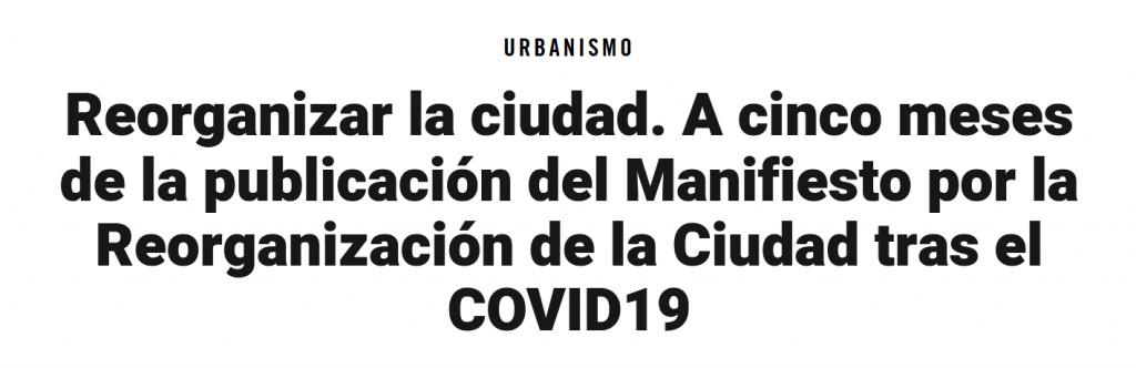 Massimo Paolini | El Salto · Urbanismo